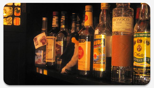 KP's liquor cabinet
