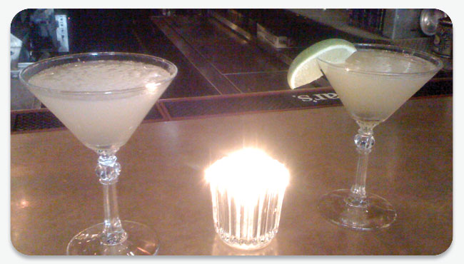 Bee's Knees and a Daiquiri