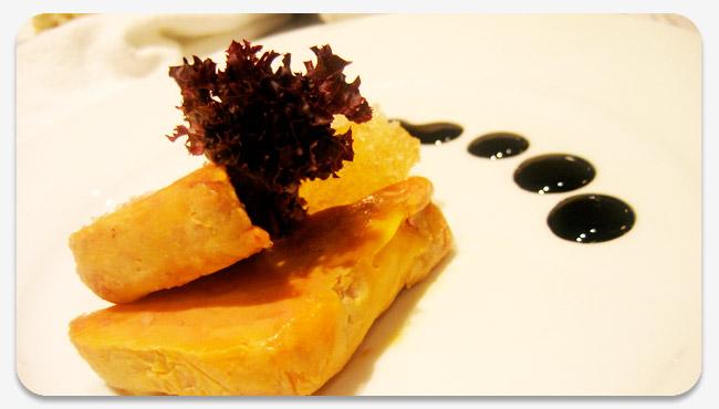 terrine of slow cooked foie gras