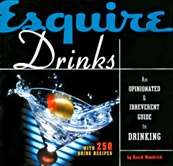 Esquire Drinks book cover