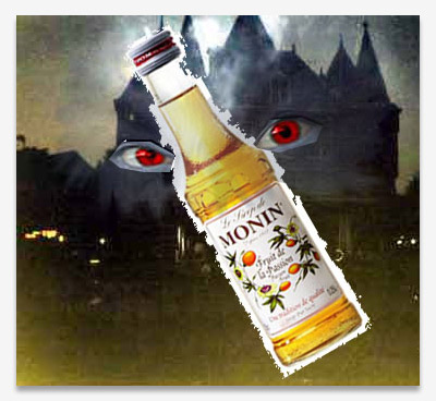Monin with angry eyes