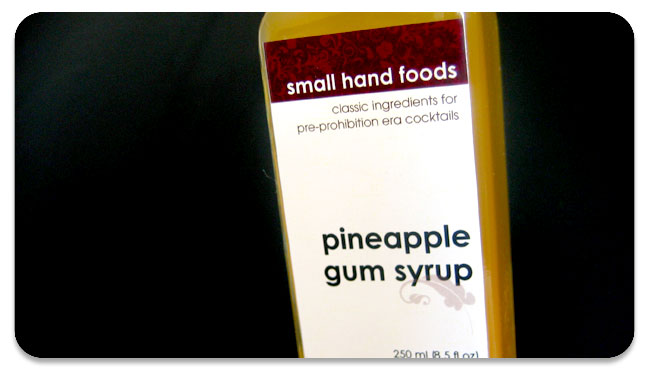 pineapple gum syrup