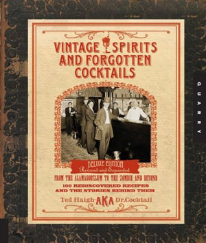 Vintage Spirits and Forgotten Cocktails cover